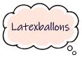 luftballon, latexballon, ballon